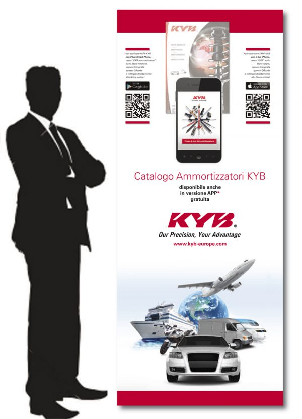 KYB ITALY – roll-up promozionale