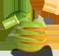 integriamo off-line e on-line