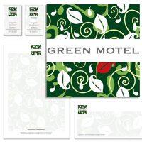 GREEN MOTEL – marchio e immagine coordinata