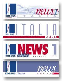 KOLBUS ITALIA – testata house organ
