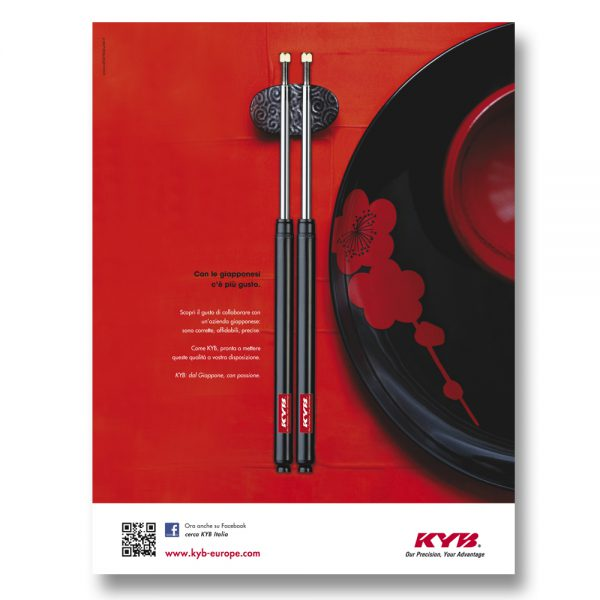 KYB ITALY – pagina pubblicitaria (2012)