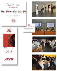 KYB ITALY – creazione evento (10° anniversario)