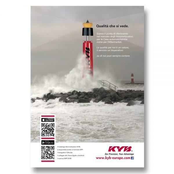 KYB ITALY – pagina pubblicitaria (2013)