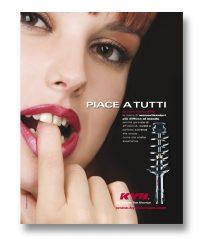 KYB ITALY – pagina pubblicitaria (2010)