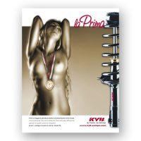 KYB ITALY – pagina pubblicitaria (2011)