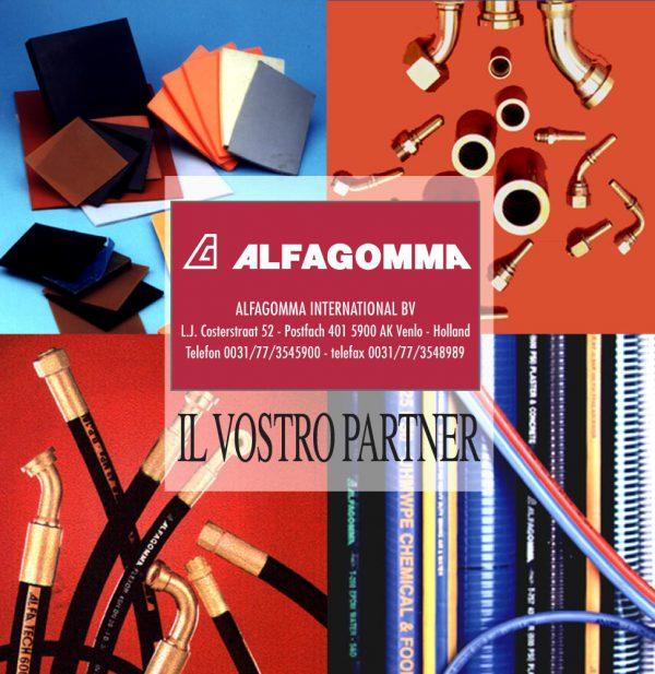 ALFAGOMMA – pagina pubblicitaria (1997)