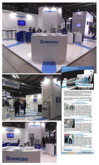 GUNNEBO – stand Sicurezza 2015