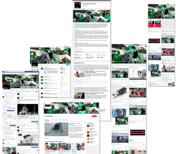 LEISTER ITALIA – pagine Social