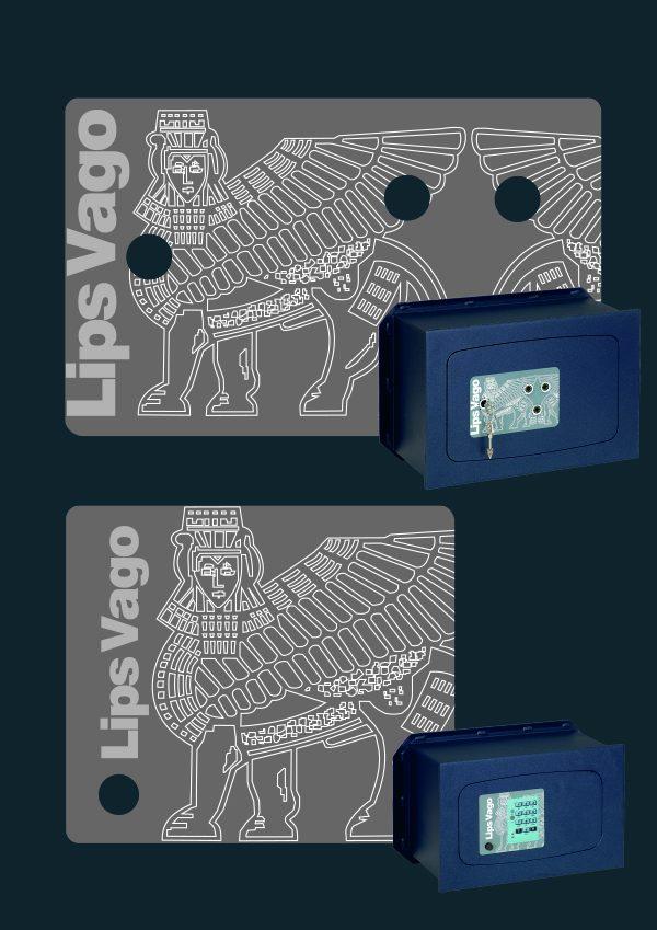 LIPS VAGO – GUNNEBO etichette casseforte