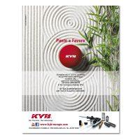 KYB ITALY – pagina pubblicitaria (2015)