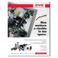 KYB ITALY – pagina pubblicitaria (2019)