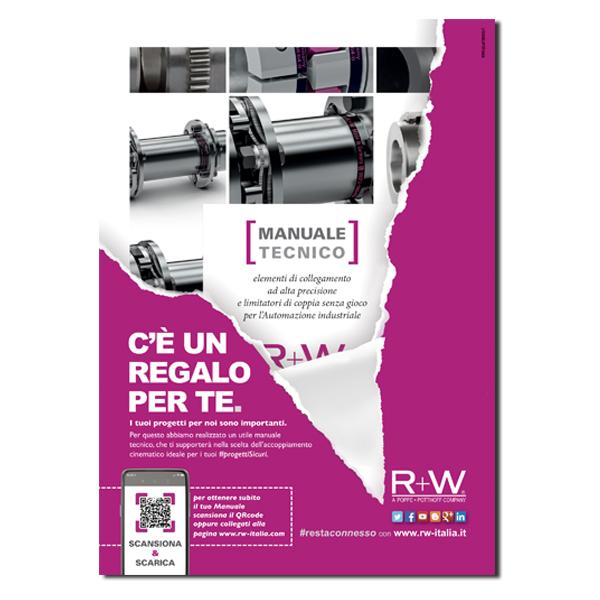 R+W – pagina pubblicitaria (2020)