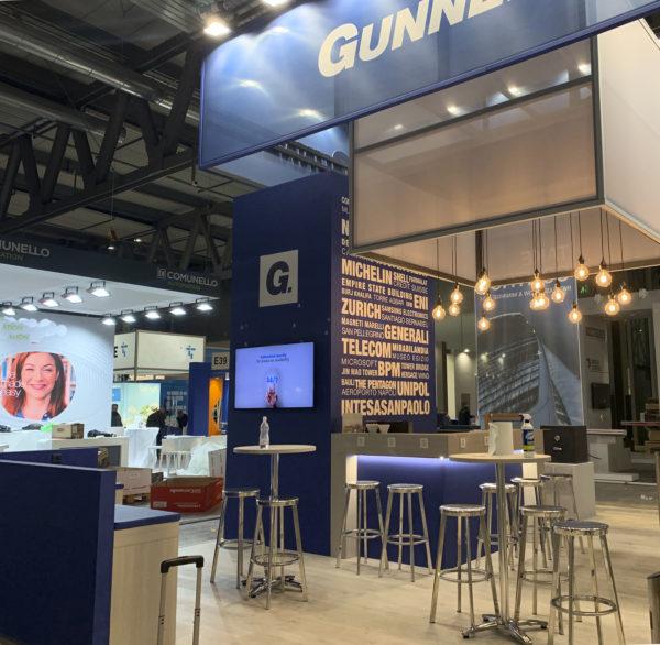 GUNNEBO – stand Sicurezza 2019