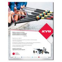KYB – pagina pubblicitaria (2021)